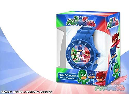 Disney–PJ Masks Reloj analógico en Estuche, pj17023