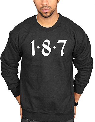 Ulterior Clothing 187 Logo Sweatshirt -