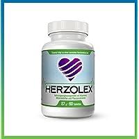 Herzolex - Senken Sie Ihren Blutdruck auf die sanfte Art | Vermeiden Sie Bluthochdruck und minimieren Sie das Risiko von Herzkreislaufproblemen | Verbessern Sie Ihre Cholesterol-Werte.|