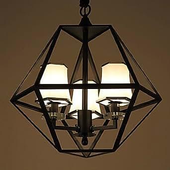 JUNQL& Chandelier/3 lights/country living room/study/blog/Gallery/outdoor metal , 220-240v