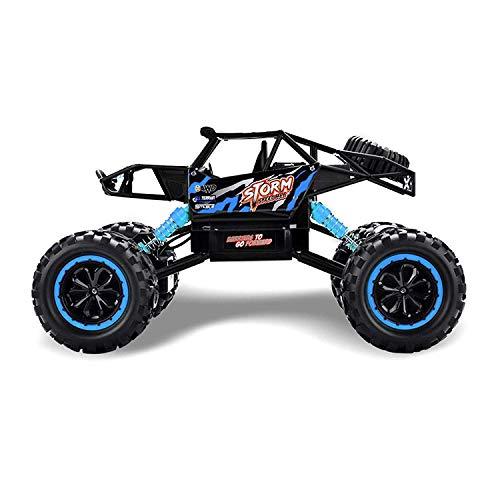 RC Auto kaufen Crawler Bild 4: Ferngesteuertes Autos,RC Auto Rock Crawler,1:18 Ferngesteuertes Monstertruck,4WD Elektrisches Offroad Fahrzeug (Blau)*