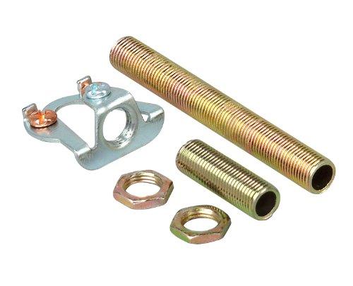 Kopp 344800081 Leuchten-Aufhäng-Set- je 1 Gewinderohr 30 und 80 mm sowie 2 Muttern M10x1