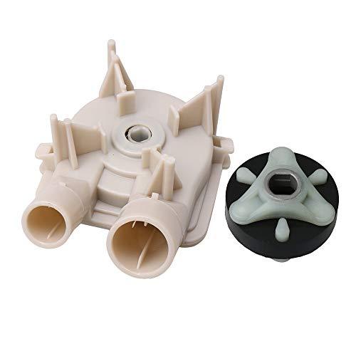 RDEXP 285753A 285753-EX Waschmaschinen Motor Kupplung + Waschanlage Ablaufpumpe 3363394 für Whirlpool Kenmore Maytag Ersatzteil -