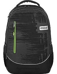 236fd4d5704b American Tourister Vibe Rust Grey School Bag Backpack (Vibe Laptop Bkpk 01  -Rust
