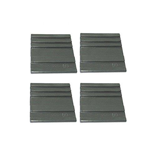 ATIKA Ersatzteil - Gleitplatten unten (4 Stück) für Holzspalter ASP 6-1050 **NEU**