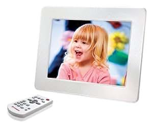 Transcend PF730W Digitaler Bilderrahmen (17,8 cm (7 Zoll) Display, 2GB interner Speicher, MP3-Player) weiß