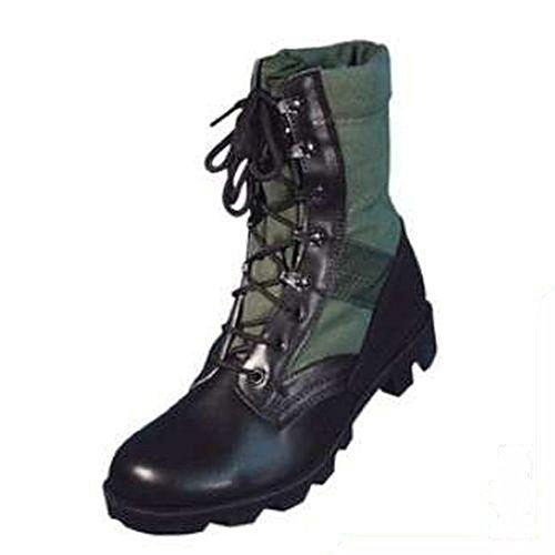 US - Stivali da giungla, stile esercito Verde - oliva