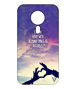 Vogueshell Fall In Love Printed Symmetry PRO Series Hard Back Case for Meizu M3 Note
