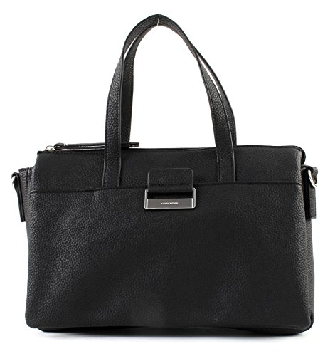 Gerry Weber Damen Talk Different Ii Handbag Shz Henkeltasche, Schwarz (Black), 6x21x32 cm - Weber Pan