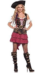 Wonderland W5035302101 Pirate Beauty - Disfraz de mujer (talla M), multicolor