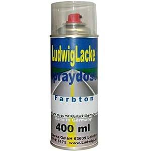 Spraydose für Mercedes Obsidianschwarz Farbcode: 197 Baujahr 1996 - 2002 Metallic Lack * Eine Spraydose Basislack 400 ml 1K Autolack