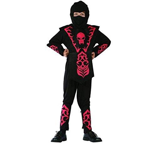 Red Kostüm Skull Ninja (Red Skull Ninja Lux Kinderkostüm)