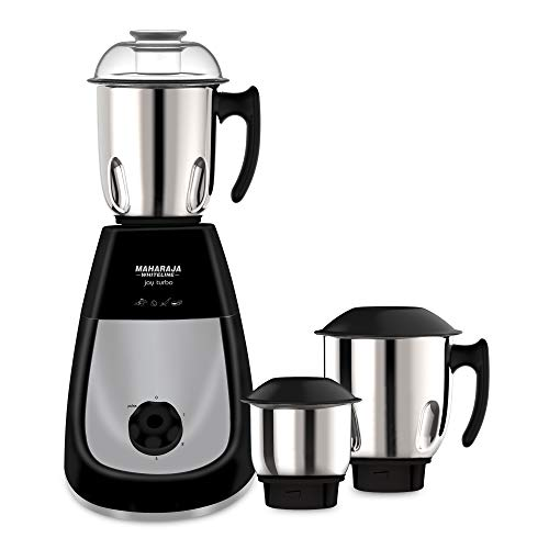 9. Maharaja Whiteline Joy Turbo 750-Watt Mixer Grinder