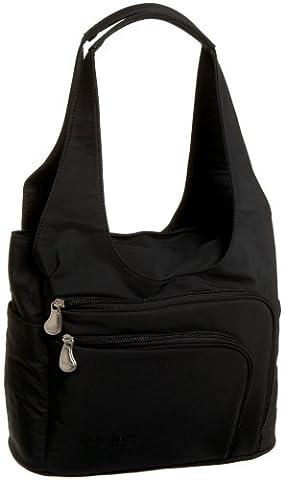 AmeriBag Zena Shoulder Bag 27774,Black,one size