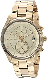 Michael Kors Analog Gold Dial Womens Watch-MK6464