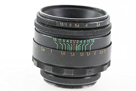 Helios 44 2 - Zénith Helios Objectif Helios 44–258mm 58mm 1: