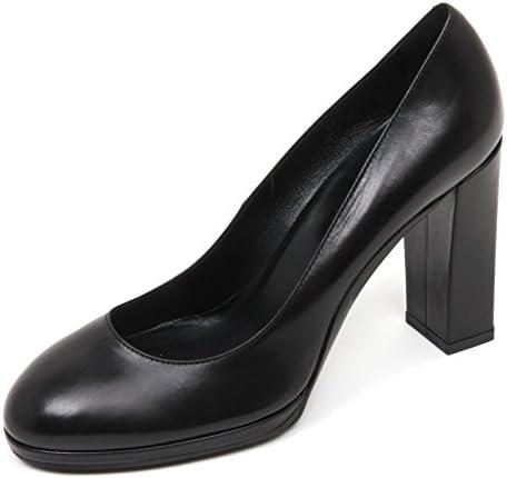 C9000 decollete donna TOD'S T90 scarpa pelle nero shoe woman black