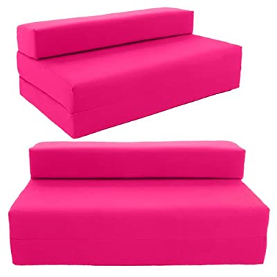 SOFABED - HOT PINK double Sofa bed chair futon