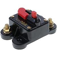 MagiDeal 12V / 24V / 32V Automatische Sicherung Schalter für Auto Kfz Lkw Boot, 70A 80A 100A - 70A