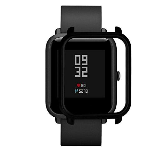 Logobeing Funda Completa para Huami Amazfit Bip Youth Watch Protección Suave de TPU de Silicona Smartwatch Protector (S)