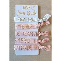 EVJF Bracelet EVJF team bride, élastique team bride, équipe de la mariée,accessoires EVJF, bracelet bride future mariée