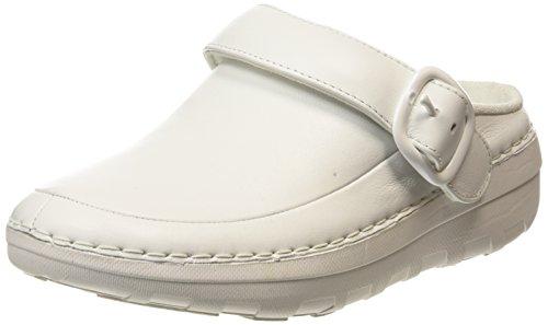 FitflopGogh Pro Superlight - Zoccoli da donna, colore Bianco (White (Urban White 194)), taglia 5 UK (38 EU)
