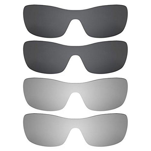 Revant Ersatzlinsen für Oakley Antix Polarisiert 4 Paar Kombipack K021