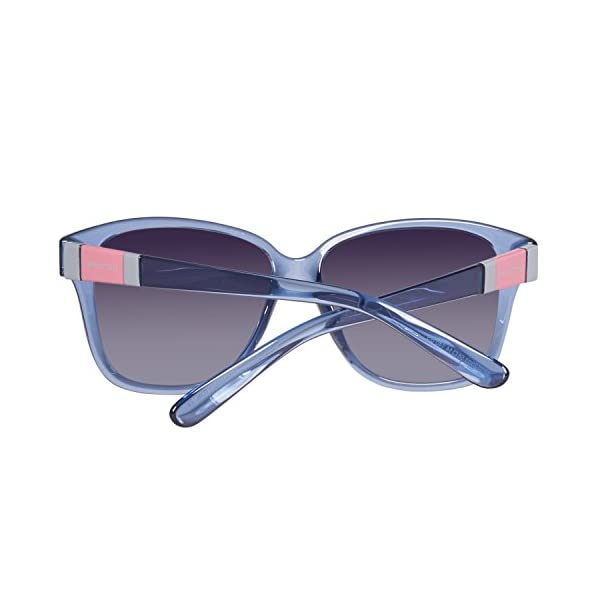 United Colors of Benetton BE952S03 Gafas de sol, Azure, 56 para Mujer