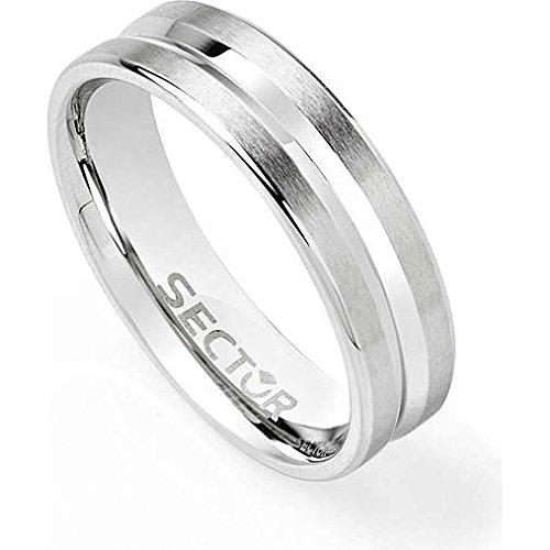 anello uomo gioielli Sector Row misura 25 sportivo cod. SACX01025