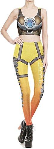 Alive - Legging - Femme taille unique yellow Armor
