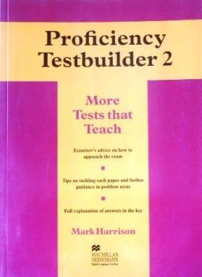 Proficiency Testbuilder 2 No Key por Mark Harrison