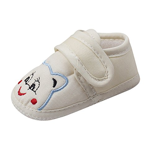 LILICAT Chaussures de bébé bébé fille garçon doux unique bande dessinée anti-dérapant chaussures enfant en bas âge chaussures bébé bébé antidérapant chaussures dessin animé ours