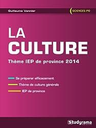 La culture : Thème IEP de Province 2014