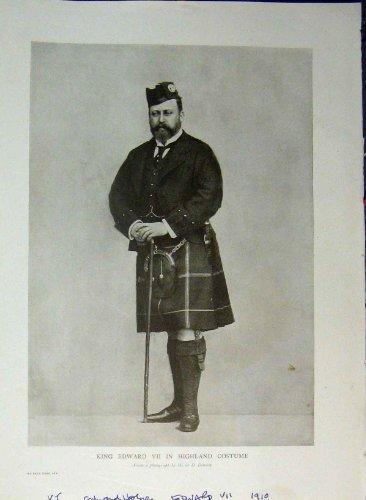Hochland-Kostüm-Kilt 1910 König-Edward VII (1910 Kostüme)