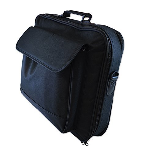 Notebook / Laptop-Tasche / Case für 41,7cm (16,4Zoll) / 43,2cm (17Zoll) / 48,3cm (19Zoll) / 46,7cm (18,4Zoll) Breitbildschirm, Polyester, Schwarz