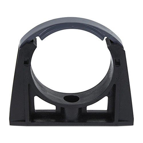 10x PVC Rohrklemme / Rohrschelle Ø 50 mm m. Bügel (- Pvc-bügel)