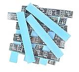 DWT-GERMANY 100627 100 je 5g/10g Stück Auswuchtgewichte 6kg Klebegewichte Stahlgewichte Kleberiegel Abrisskante Verzinkt Riegel FE Eisen Eckige Kante