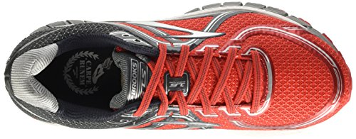 Brooks Herren Adrenaline Gts 16 M Laufschuhe mehrfarbig (High Risk Red/Anthracite/Silver)