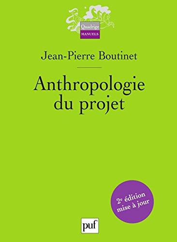Anthropologie du projet (Quadrige