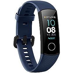 Smartwatch Huawei Honor Band 4, Cimaybeauty, Schermo Touch Screen, Orologio da Polso con cardiofrequenzimetro, Fitness Tracker GPS, modalità Multi-Sport, Impermeabile Fino a 5 ATM