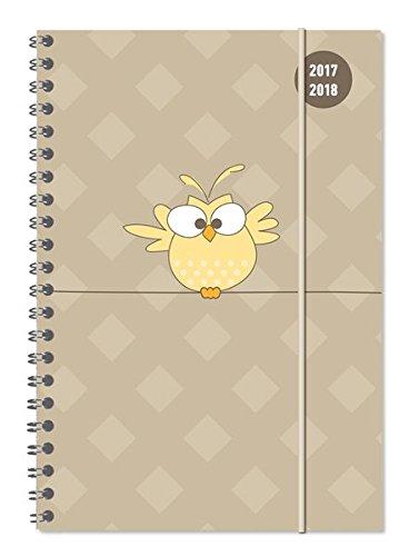 Collegetimer A5 Bird 2017/2018 - Ringbuch