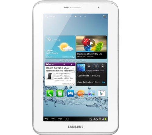 Samsung Galaxy Tab 2 P3100 3G+WIFI Tablet (17,8 cm (7 Zoll) Display, 1GHz Prozessor, 1GB RAM, 16 GB Speicher, 3,2 Megapixel Kamera, Android) weiß - 2012 Tablet Samsung