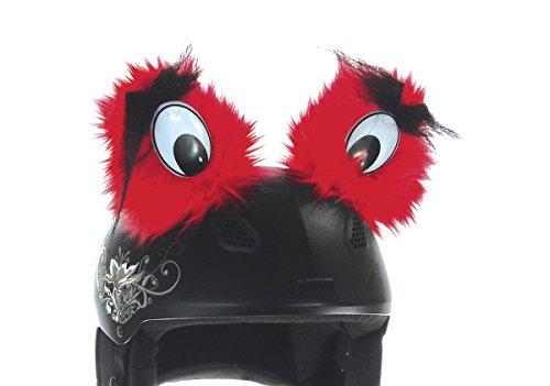 REDHOT Ski Helmcover Eyes, Red, 3121