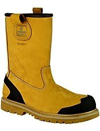Sir Safety Metal Top Infinity S3 SRC 23056467 - Calzado de protección de cuero para hombre, color marrón, talla 40