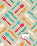 Meal Planning Notebook: Weekly Meal Planning Calendar and Grocery List (Food Journals and Meal Planners)