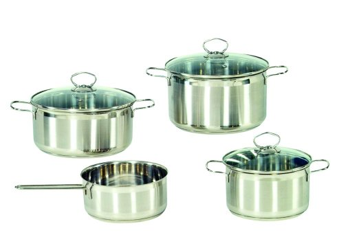 Price comparison product image Manhattan 4 Piece Saucepan Set