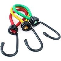navigatee 5unidades camping elástica cuerda hebilla gancho tienda cuerda cuerda Fastener Fixing banda correa cuerda (Color Entrega Al Azar)
