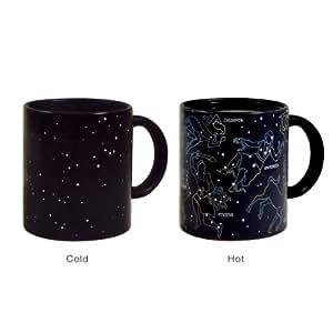 Shinntto(TM) NEW Constellation Mug For Those Science Coffee & Tea Lovers (Black)