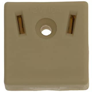 W4 Surface Mounted Socket - Off-White