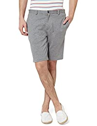 Hammock Men's Knitted Solid Chino Shorts - Grey